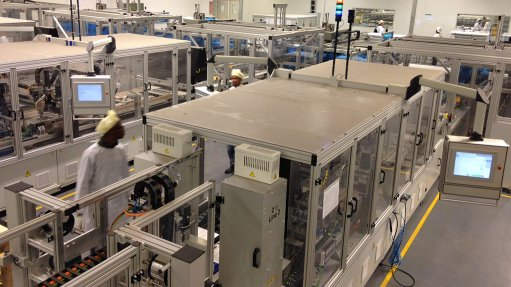 $80m solar PV factory officially opens in Cape Town