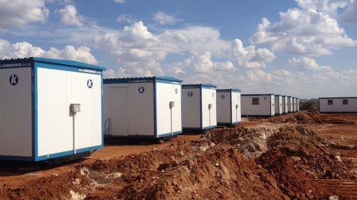 Prefab buildings benefit mine site construction team