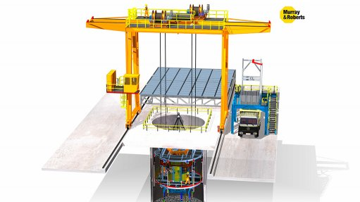 New pre-shaft sinking system  developed for mining industry