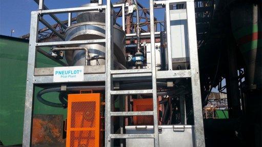 Pneuflot  effective on African ores