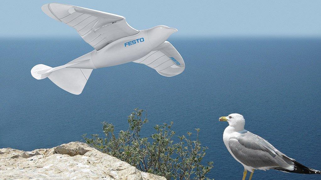 Festo's SmartBird bionic innovation