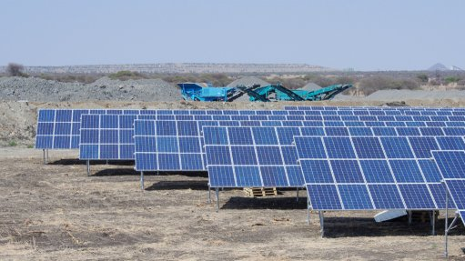 Cronimet turns sod on large Namibian PV plant