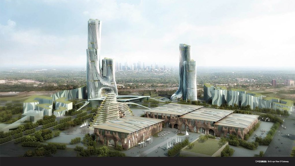 R84bn Modderfontein New City to be built on technology, integrated public transport