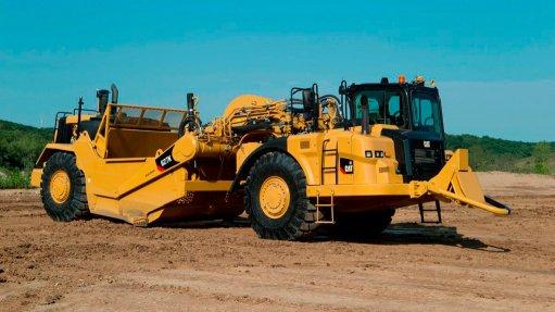 Earthmoving company reaches milestone with new scraper