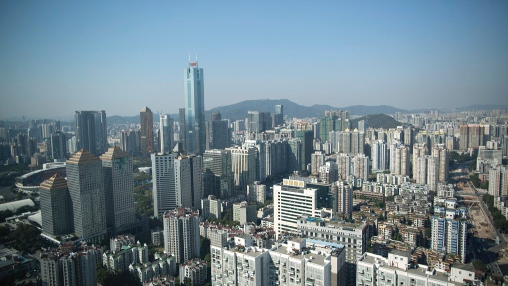 GUANGZHOU CITY The Chinese city's landscape will change with the addition of the 530 m tower