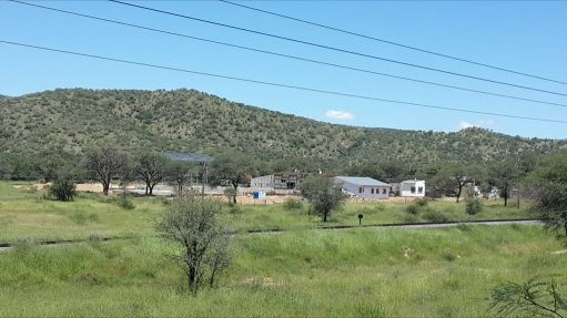 SYSTEM UPGRADE The new wastewater treatment plant replaces the region's older Ujams wastewater treatment plant, located about 20 km north of Windhoek