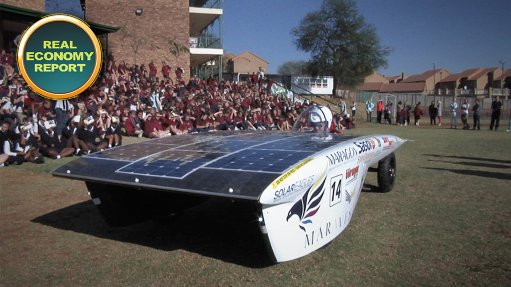 School competes against universities in Sasol's Solar Challenge 2014