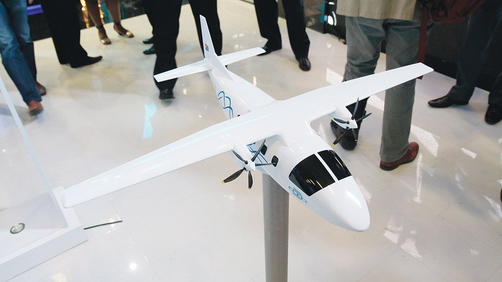Denel group launches new South African aircraft project