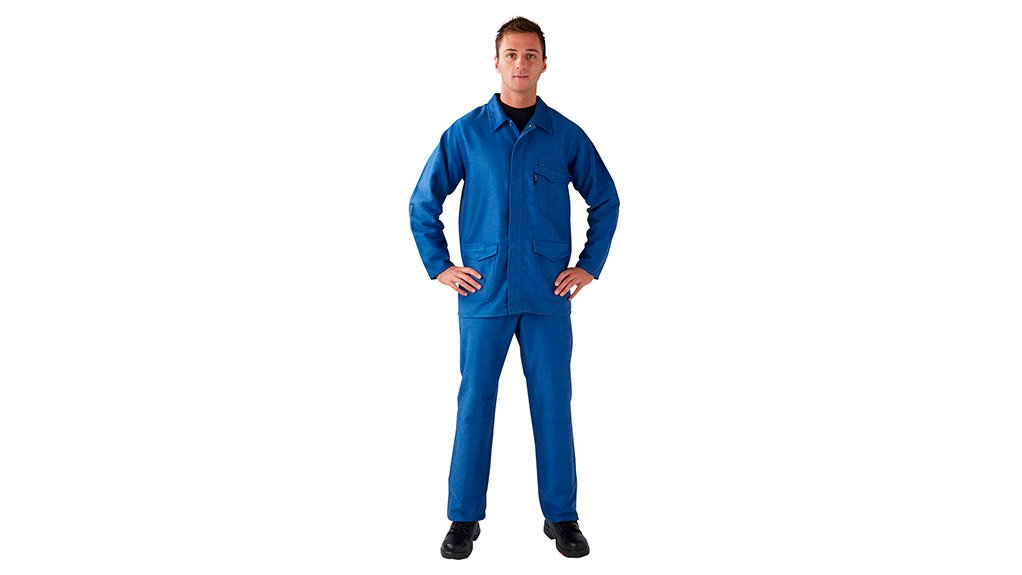 INDUSTRY FIRST The Metal-Safe personal protective garments are made from Lenzing FR, antistatic, high-strength synthetic and other fibres