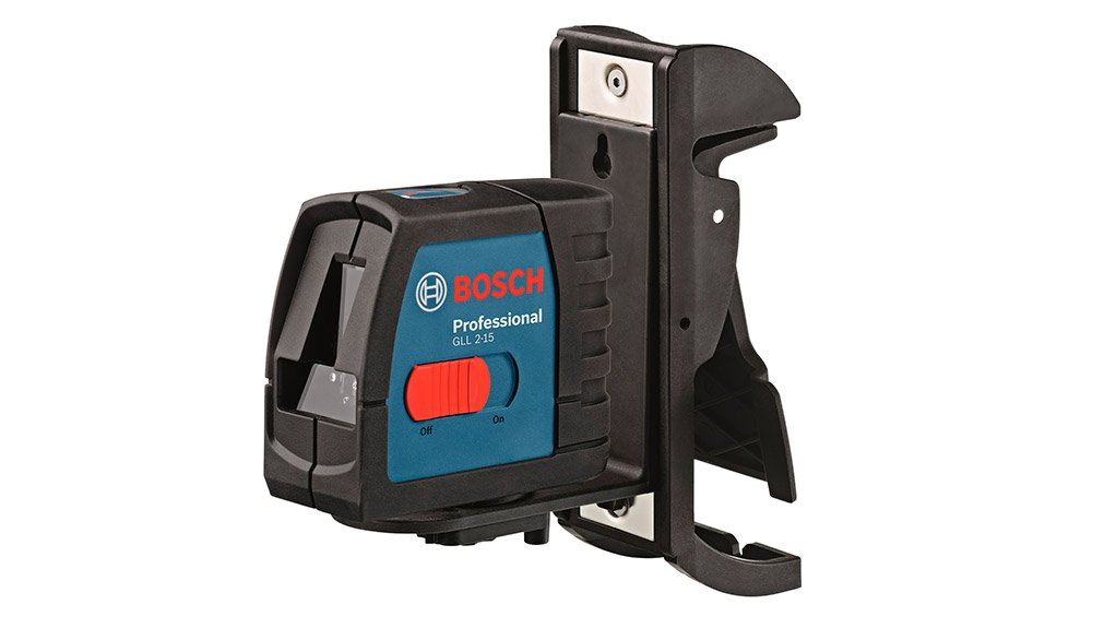 GLL 2-15 PROFESSIONAL CROSS LINE LASER Bosch Power Tools South Africa maintains that the cross line laser is ideal for levelling professionals with limited levelling experience