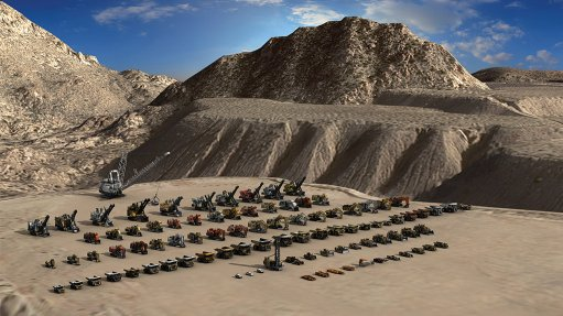 COMPREHENSIVE RANGE Many well-known mining vehicle brands and models are available to train operators through Immersive Technologies' simulators