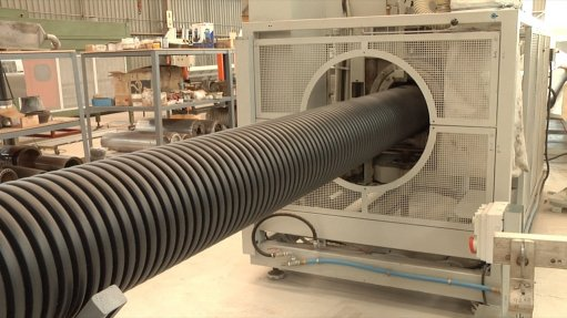 SPC opens R70m HDPE pipe manufacturing facility