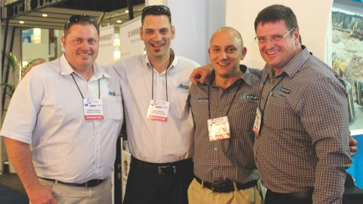 Company sells new  underground mining  pipes at expo