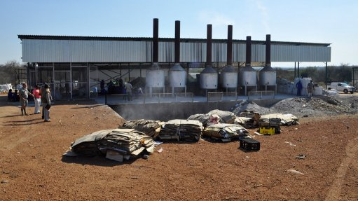 Waste materials recovery facility to increase  production