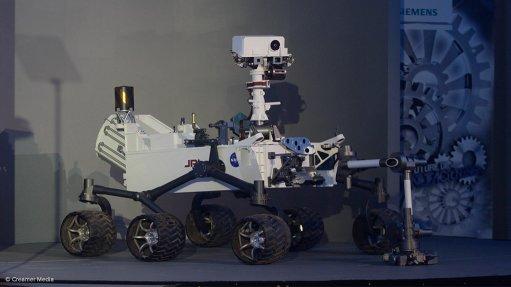 Siemens demonstrates Curiosity Mars Rover capabilities