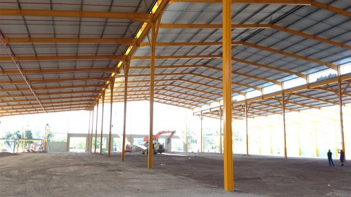 Multifunctional  warehousing facility completed