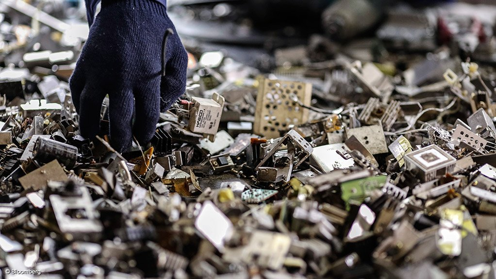 E-WASTE RECYCLING Only 11% of electronic waste was recovered in 2011, but new recycling initiatives and incentives will improve this figure