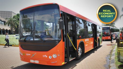 Rustenburg christens R7bn integrated public transport system