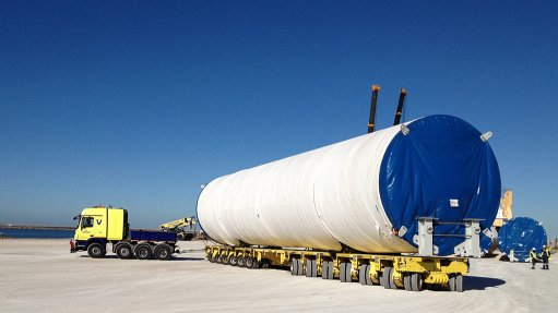 Company completes transportation and erection of wind turbines