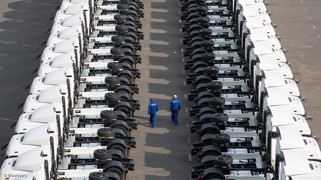 ATTRACTIVE PROSPECT The fleet management industry can deliver significant efficiency and uptime to the courier and freight industry