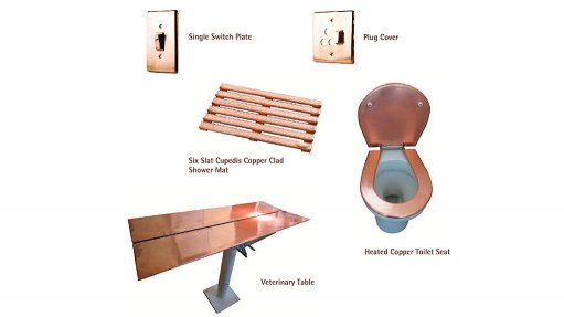 COPPER-TUBING ALTERNATIVES Copper Tubing Africa will officially launch the product range, which is made out of 99% pure copper, during the first half of 2015