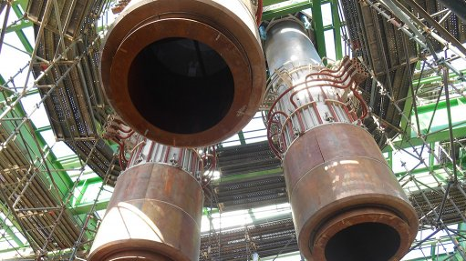 Smelter engineer delivers electrode columns for  furnace project