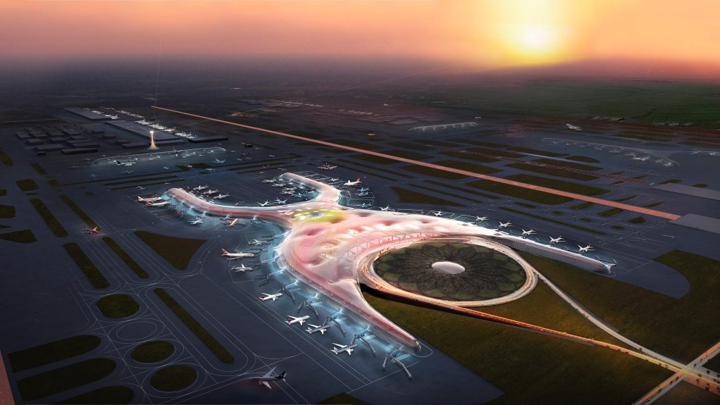 MEXICO AIRPORT PROJECT The greenfield project will be designed to be one of the world's largest and most sustainable airports