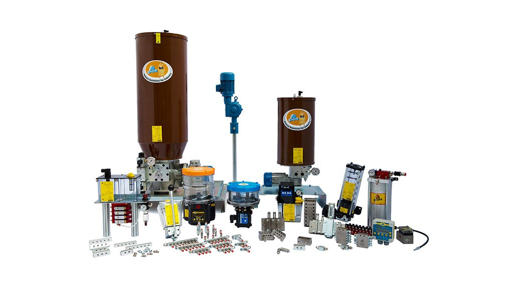 COMPREHENSIVE LUBRICATION SYSTEMS Centralised lubrication systems ensure that there is no need to be concerned about a lubrication point being under- or overlubricated