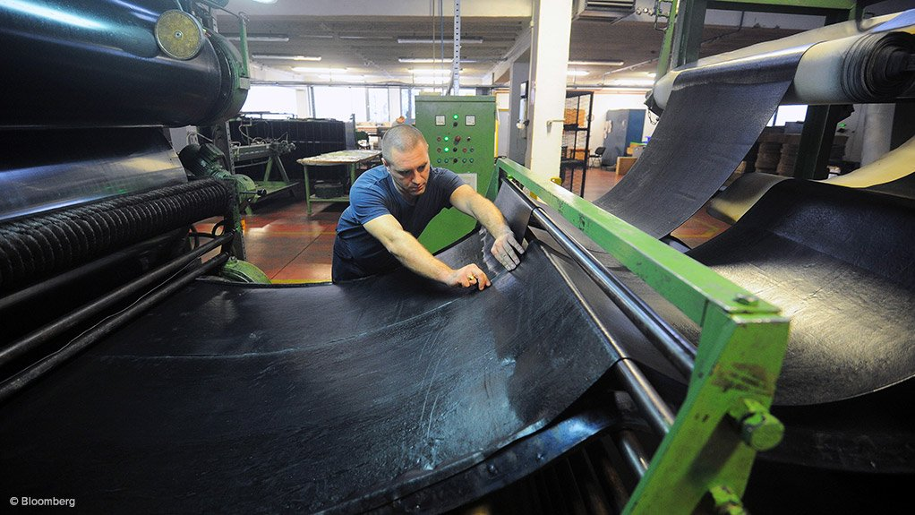 INDUSTRY SURETY Transvaal Rubber Company secured business worth about R150-million for 2015