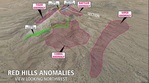 Promising anomalies  discovered by Australian prospectors in US