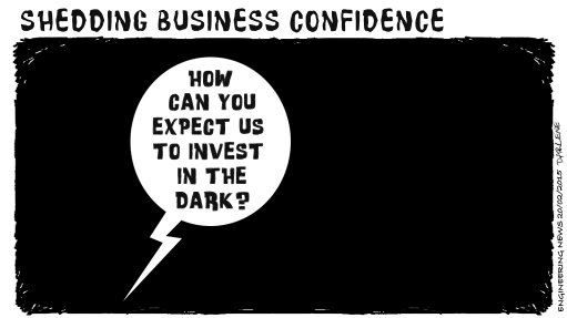 CONFIDENCE SAPPING