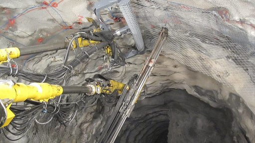 Mechanised installation of mesh promotes underground safety