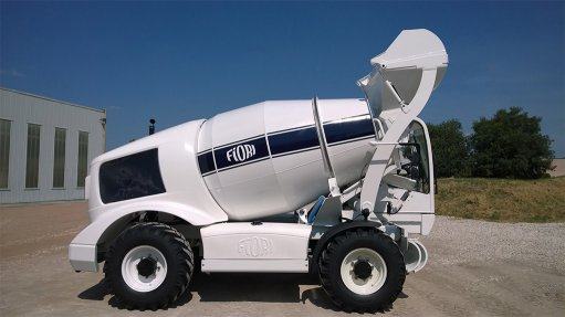 New self-loading mixer  advances concrete  production in Africa