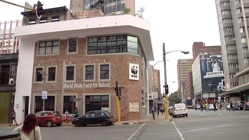 New green building completed  in heart of Joburg
