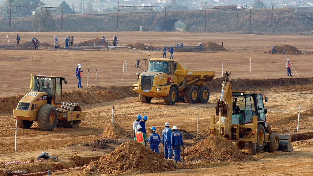 CONTENTIOUS FACTOR Construction companies, face a choice between the demand to create labour, and to buy equipment