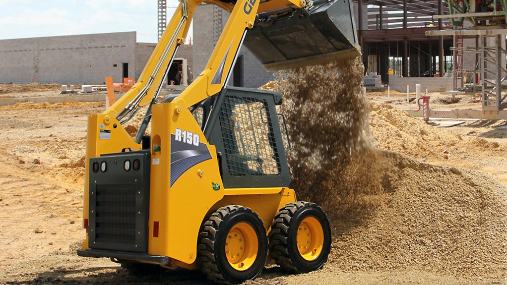TASK TACKLER The new medium-frame Gehl skid steer loaders' ground-engaging capabilities and high-capacity strength are ideally suited for excavation applications