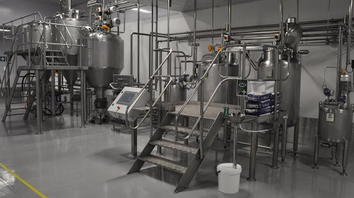 Company delivers mayonnaise-mixing plant