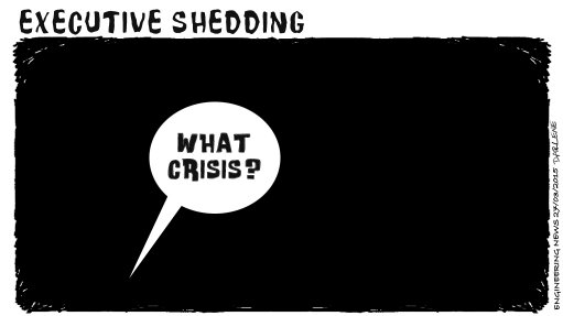 WHAT CRISIS?