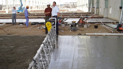 Quality concrete floors depend  on contractor cooperation