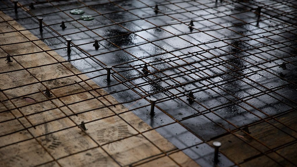WELL BUILT Contractors are faced with the challenge of building safe and durable concrete floors