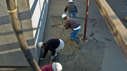 BUILDING FOR SAFETY Contractors must ensure that they build high-quality floors to ensure the safety of human assets