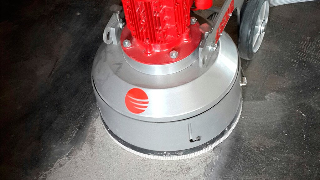 FLOOR WORK The partnership between Diamond Products and Merchant West is making it possible for contractors to afford flooring machinery