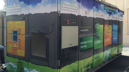 Energy solutions provider unveils fuel cell system at the CoM