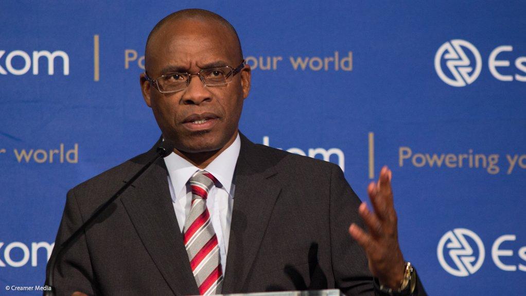 Eskom CEO Tshediso Matona
