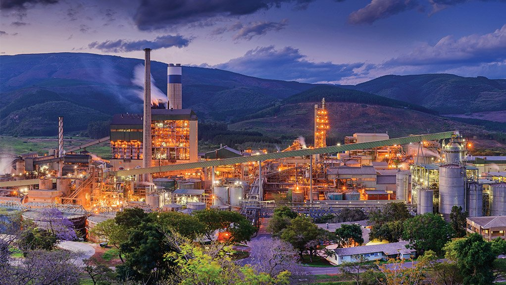 Sappi's significant investments in four of its mills, including its Ngodwana Mill (pictured here), have culminated in the expansion of the company's pulping and fibre production capacity