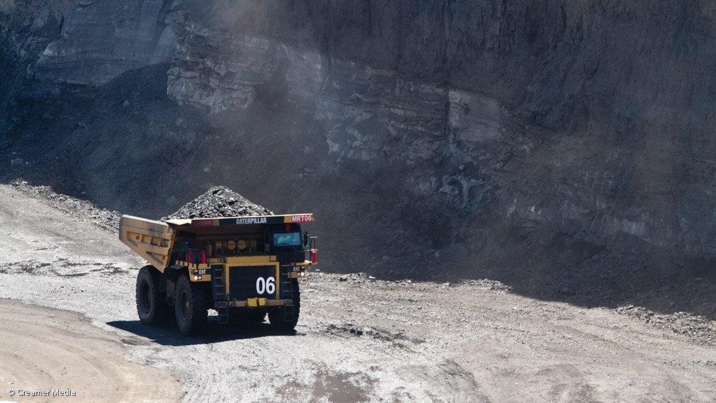 Vanggatfontein colliery