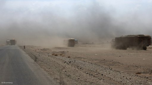 ACCIDENT PREVENTION Investing in dust surpression solutions can effectively reduce or eliminate air pollution at any materials-handling site