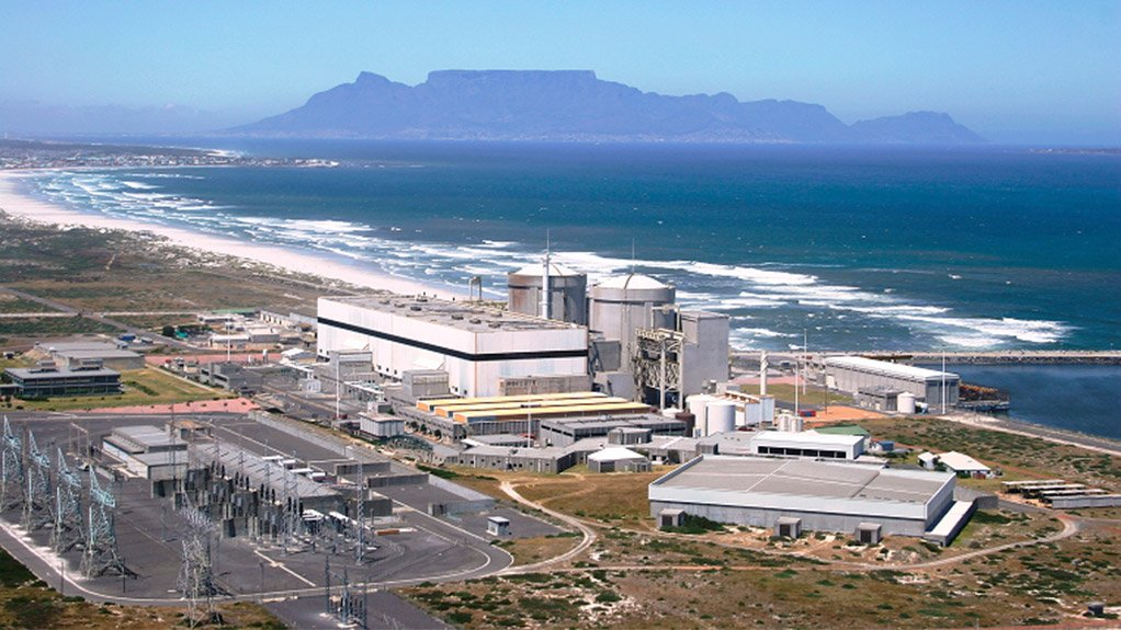 ON TRACK The scope of work of the South African SGR consortium at the Koeberg nuclear power station include removal and off-loading of the old steam generators
