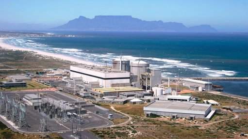 Koeberg generators, tank replacement projects still on track