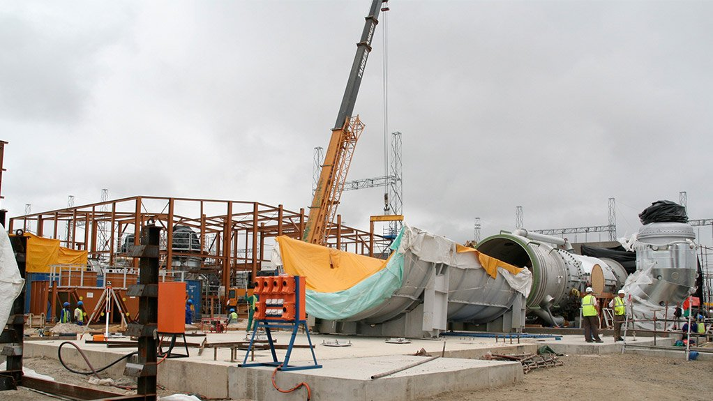 PROJECT FOOTPRINT Lesedi Nuclear Services' projects range from the construction of Eskom's open-cycle gas turbines, to construction of the utility's coal-fired Medupi and Kusile power stations